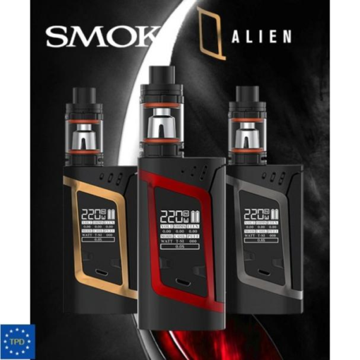 Smok Alien Box Mod Kit TC 220W con TFV8 Baby